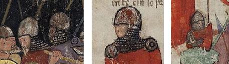 Immagini tratte da Homiliae Et Orationes 1301-1400 Bibliothèque nationale de France, Département des manuscrits