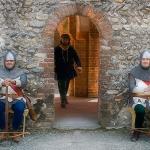 Balestrieri di guardia... a riposo